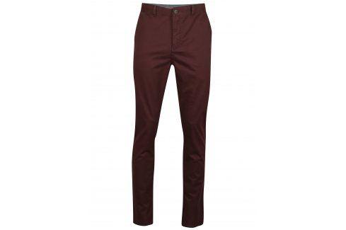 Hnědé chino kalhoty SUIT Frank kalhoty