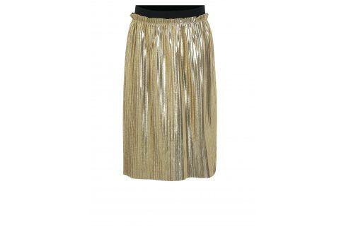 Plisovaná sukně ve zlaté barvě name it Filia Sukně