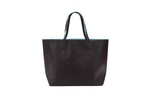 Tmavě hnědý shopper Fez by Fez Shopper kabelky