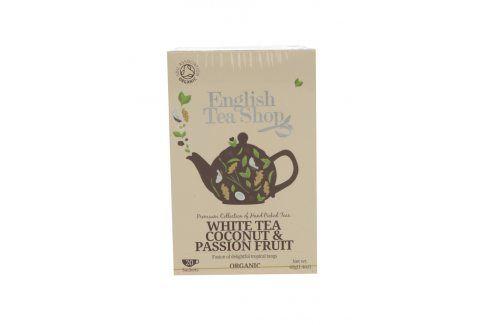 Bílý čaj English Tea Shop Coconut Bio čaj, káva, víno