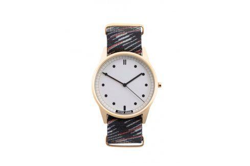 Pánské hodinky ve zlaté barvě HYPERGRAND Hodinky
