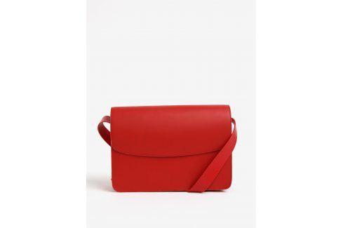 Červená kožená crossbody kabelka Vagabond Valencia kabelky