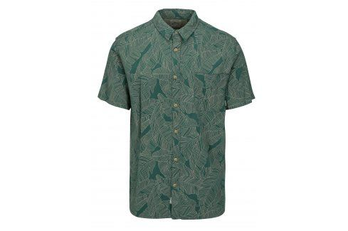Zelená pánská vzorovaná modern fit košile Quiksilver neformální