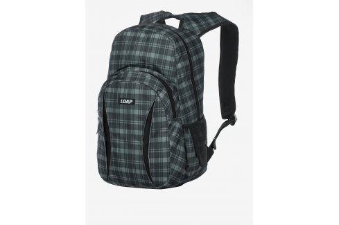 Šedo-černý kostkovaný batoh LOAP Asso 20 l Batohy