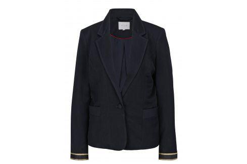Tmavě modré sako VILA Allessia Bundy, kabáty