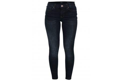 Tmavě modré skinny fit džíny ONLY Shape Džíny, kalhoty, legíny