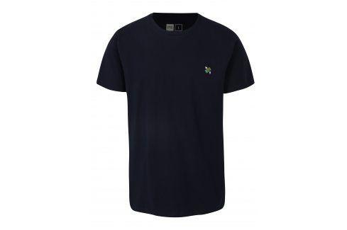 Tmavě modré tričko s výšivkou Dedicated Flying Dollar trika s krátkým rukávem