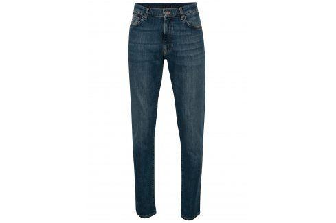 Modré pánské slim džíny GANT džíny
