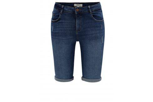 Tmavě modré džínové kraťasy Dorothy Perkins Kalhoty, kraťasy