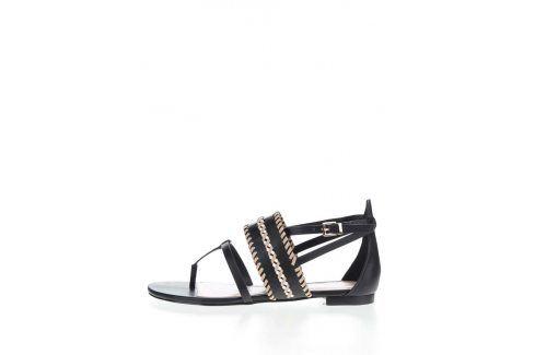 Černé dámské sandály ALDO Nadya sandály