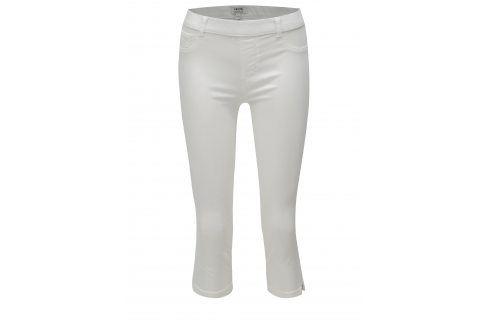 Bílé zkrácené jeggings Dorothy Perkins Petite Džíny, kalhoty, legíny