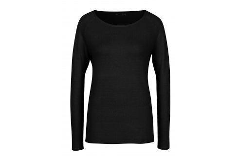 Černý lehký svetr Haily´s Stella Móda pro ženy