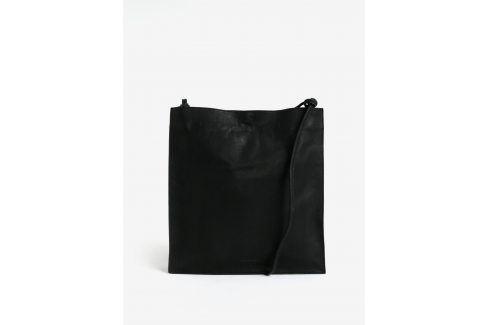Černá kožená kabelka Vagabond Firenze kabelky