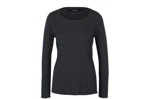 Tmavě šedý svetr VERO MODA Sofia Móda pro ženy