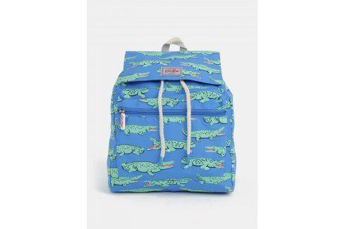 Zeleno-modrý klučičí batoh s potiskem krokodýlů Cath Kidston Tašky a batohy