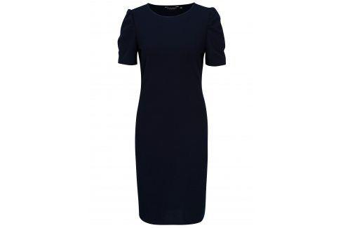 Tmavě modré šaty Dorothy Perkins šaty na denní nošení
