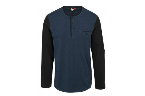 Tmavě modré pánské tričko s dlouhým rukávem Ragwear Tibor trika s dlouhým rukávem