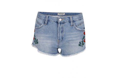Modré džínové kraťasy TALLY WEiJL Kalhoty, kraťasy