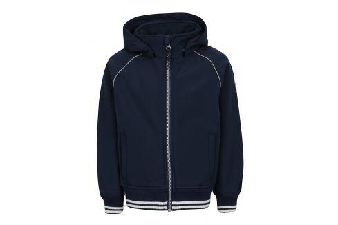 Modrá klučičí bunda s kapucí name it Alfa Bundy, kabáty, saka