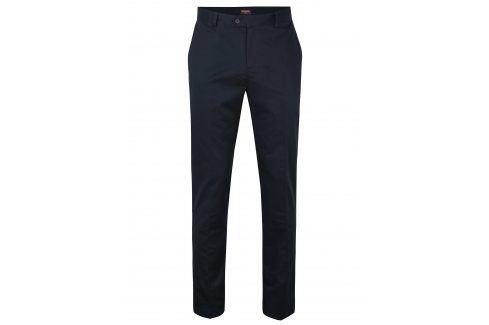 Tmavě modré chino kalhoty Merc kalhoty