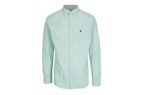 Světle zelená regular fit košile Selected Homme neformální