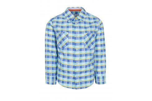 Modrá klučičí kostkovaná košile 5.10.15. Košile