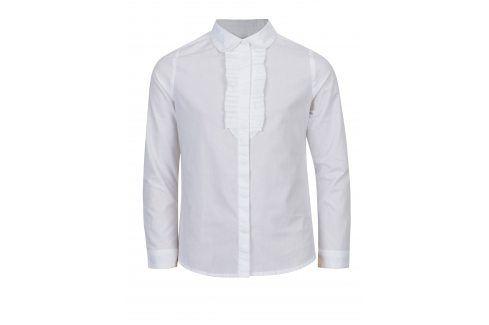 Bílá holčičí košile s fiží 5.10.15. Halenky