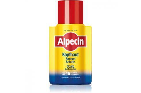 Alpecin Scalp Protection ochranná emulze na pokožku hlavy SPF15  100 ml Ochrana vlasů před sluncem