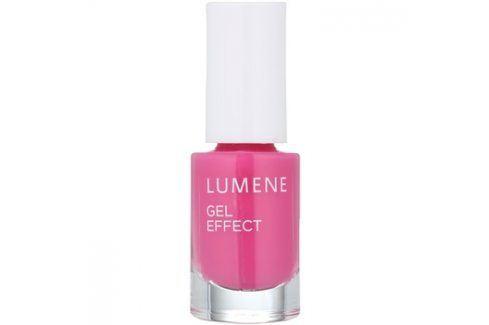 Lumene Gel Effect lak na nehty odstín 17 Raspberries 5 ml Laky na nehty