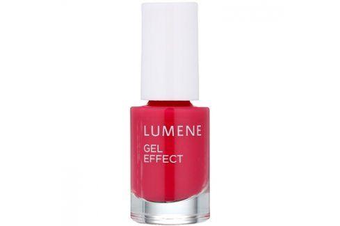 Lumene Gel Effect lak na nehty odstín 10 Full of Berries 5 ml Laky na nehty