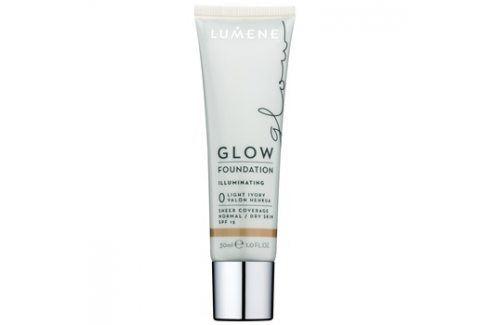 Lumene Nordic Chic Glow podkladová báze s hydratačním účinkem odstín 0 Light Ivory 30 ml Podkladové báze