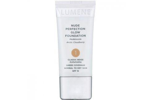 Lumene Nude Perfection hydratační make-up proti nedokonalostem pleti odstín 01 Classic Beige (SPF 15) 30 ml up