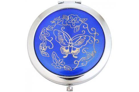 Magnum Feel The Style kosmetické zrcátko kulaté 128 Blue Kosmetická zrcátka