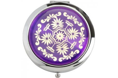Magnum Feel The Style kosmetické zrcátko kulaté 128 B Purple Kosmetická zrcátka
