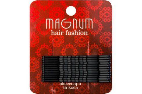 Magnum Hair Fashion pinetky do vlasů černá  12 ks Vlasové doplňky