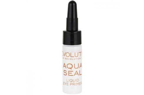 Makeup Revolution Aqua Seal fixátor očních stínů a podkladová báze 2 v 1  5,5 ml Báze pod oční stíny