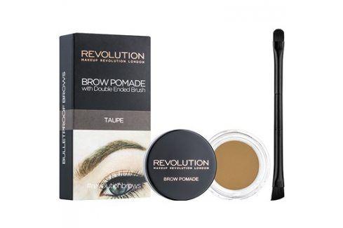 Makeup Revolution Brow Pomade pomáda na obočí odstín Taupe 2,5 g Tužky na obočí
