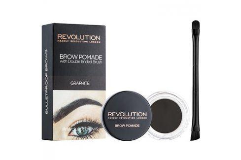 Makeup Revolution Brow Pomade pomáda na obočí odstín Graphite 2,5 g Tužky na obočí