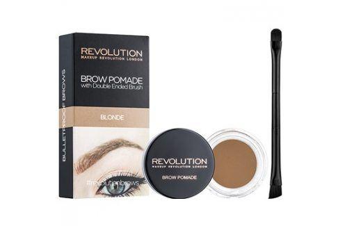 Makeup Revolution Brow Pomade pomáda na obočí odstín Blonde 2,5 g Tužky na obočí