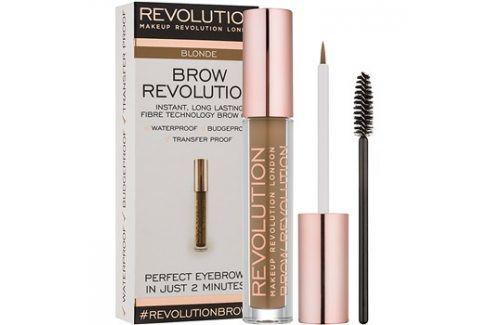 Makeup Revolution Brow Revolution fixační gel na obočí odstín Blonde 3,8 g Tužky na obočí