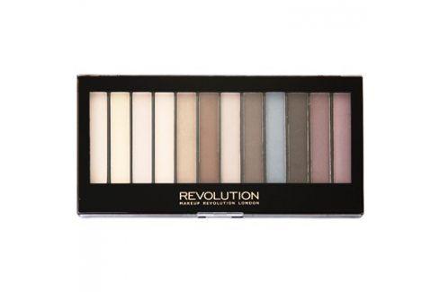 Makeup Revolution Essential Mattes paleta očních stínů  14 g Oční stíny