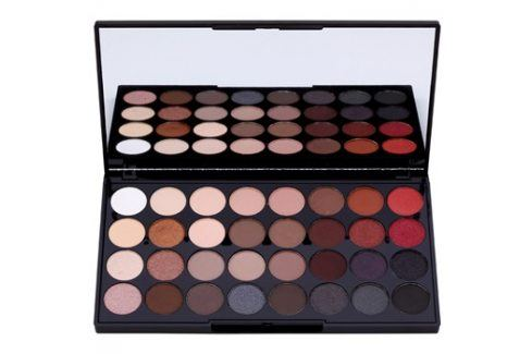 Makeup Revolution Flawless 2 paleta očních stínů se zrcátkem  20 g Oční stíny