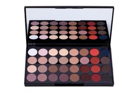 Makeup Revolution Flawless Matte 2 paleta očních stínů se zrcátkem  20 g Oční stíny