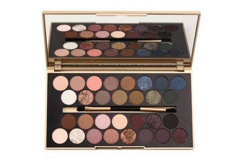 Makeup Revolution Fortune Favours the Brave paleta očních stínů se zrcátkem a aplikátorem  16 g Oči