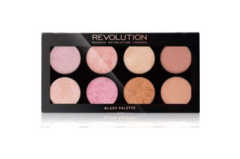 Makeup Revolution Golden Sugar 2 Rose Gold paleta tvářenek  13 g Tvářenky