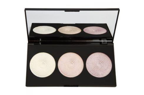 Makeup Revolution Highlight paleta rozjasňujících pudrů  15 g Pudry