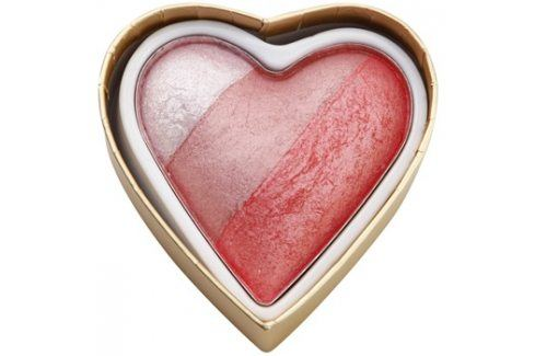 Makeup Revolution I ♥ Makeup Blushing Hearts tvářenka odstín Bursting With love 10 g Tvářenky