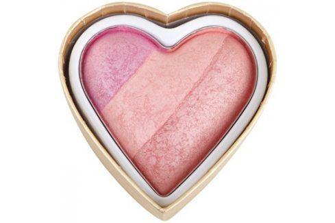 Makeup Revolution I ♥ Makeup Blushing Hearts tvářenka odstín Candy Queen Of Hearts 10 g Tvářenky