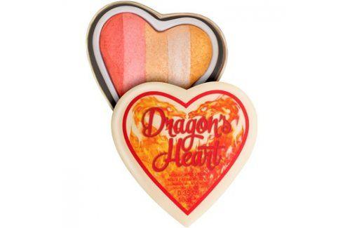 Makeup Revolution I ♥ Makeup Dragon's Heart rozjasňovač na oči a tvář  10 g Rozjasňovače