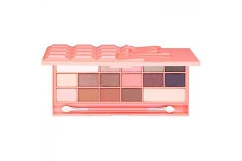 Makeup Revolution I ♥ Makeup Chocolate and Peaches paleta očních stínů  22 g Oči